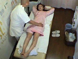 Japanese Massage Porn Video Starring A Fresh Girl Wearing White Lingerie